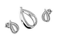 Diamantová súprava Selena 0,100 ct white KU177a