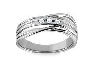 Diamantový prsteň 0,060 ct Deluxe Joy DB0025