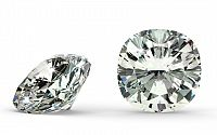 IF E 0.51 ct diamant certifikát GIA brus Cushion IZDI984