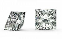 SI1 E 0.137 ct diamant certifikát IGI brus Princess IZDI1314