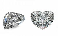 SI1 H 0.96 ct diamant certifikát GIA brus Heart IZDI1493