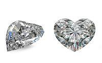 SI2 F 0.67 ct diamant certifikát GIA brus Heart IZDI1480