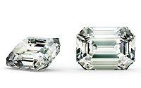 SI2 F 1.02 ct diamant certifikát IGI brus Emerald IZDI1495