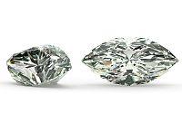 VS2 D 0.141 ct diamant certifikát IGI brus Marquise IZDI1319