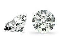 VVS2 F 0.34 ct diamant certifikát HRD brus Round IZDI1433