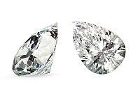 VVS2 F 0.53 ct diamant certifikát IGI brus Pear IZDI988