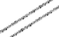 Zlatá retiazka Beads 1 mm IZ8036AA