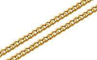 Zlatá retiazka Pancier 1,5 mm IZ7545