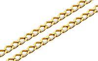 Zlatá retiazka Pancier 2 mm 9IZ033