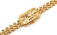 Zlaté dámske hodinky Geneve IZ11465