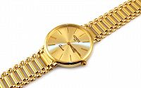 Zlaté dámske hodinky Geneve IZ9310