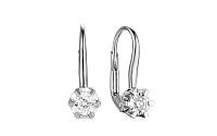 Zlaté náušnice s diamantmi Jolee IZBR076A