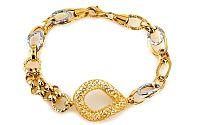 Zlatý dámsky náramok CAYANNE 8 IZ6148