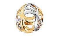 Zlatý dámsky prsteň matovaný Double IZ3053