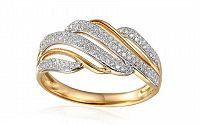 Zlatý diamantový prsteň 0.270 ct Sibel IZBR346