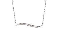 Zlatý náhrdelník so zirkónmi Nylah 1 9IZ098A
