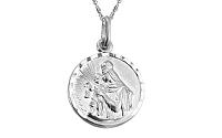 Zlatý obojstranný medailón 1 IZ7631