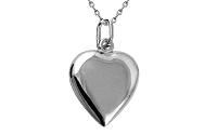 Zlatý prívesok hladké srdce IZ8704A