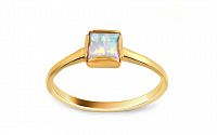 Zlatý prsteň s opálom IZ9523