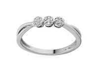 Zlatý zásnubný prsteň s diamantmi Jaimie white IZBR027A