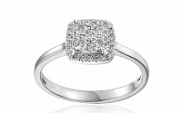 Zlatý zásnubný prsteň s diamantmi Nava white IZBR024A