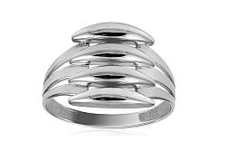 Celozlatý dámsky prsteň IZ10704A