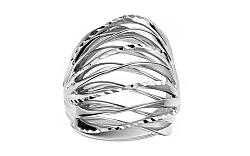 Celozlatý prsteň s gravírom IZ11396A
