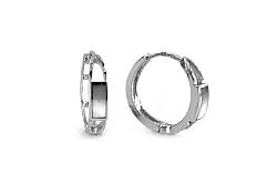 Dámske náušnice kruhy 1,5 cm Cholet 1 IZ6173