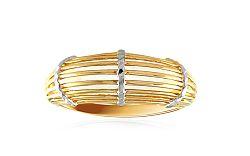 Dámsky celozlatý prsteň IZ8601