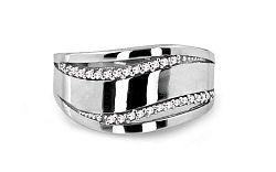 Dámsky prsteň so zirkónmi CS9RI1517A