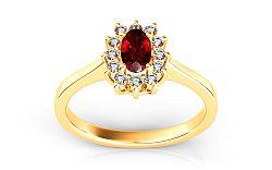 Dámsky prsteň z diamantmi Follow Emotion 0,100 ct ARBR19Y