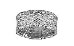 Dámsky zlatý prsteň Flexi white IZ6287