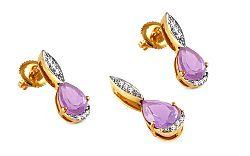 Diamantová súprava 0,070 ct Karis KU290S
