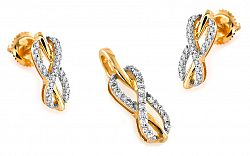 Diamantová súprava 0,360 ct KU223