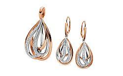 Diamantová súprava 0.620 ct Dazzling Drops DB0093S