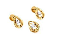 Diamantová súprava kolekcia Dancing Diamonds KU351S