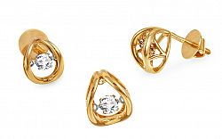 Diamantová súprava kolekcia Dancing Diamonds KU376S