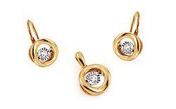 Diamantová súprava kolekcia Dancing Diamonds KU397S