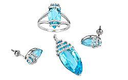 Diamantová súprava Tamiss 0,510 ct KU189