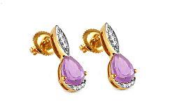 Diamantové naušnice 0,040 ct Karis KU290N