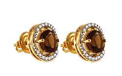 Diamantové náušnice 0,130 ct Euene KU289N