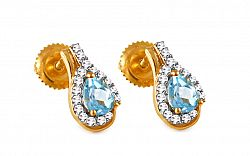 Diamantové naušnice 0,160 ct Elois KU285N