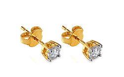 Diamantové náušnice 0,260 ct Yonnel KU287