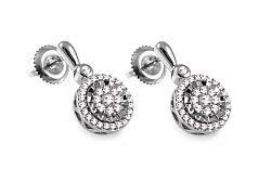 Diamantové náušnice 0,330 ct Jackie KU298N
