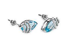 Diamantové náušnice Tamiss 0,160 ct KU189N