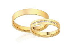 Diamantové svadobné obrúčky 0,090 ct Yasmine diamonds 4 mm IZOBBR015