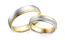 Diamantové svadobné obrúčky 0,140 ct Yasmine diamonds 5 mm IZOBBR034