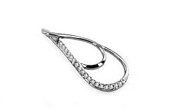 Diamantový prívesok 0,060 ct Soltar white KU149A
