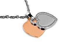 Diamantový prívesok 0,270 ct Srdce LRPR03