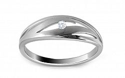Diamantový prsteň 0,030 Delux Dot DB0026